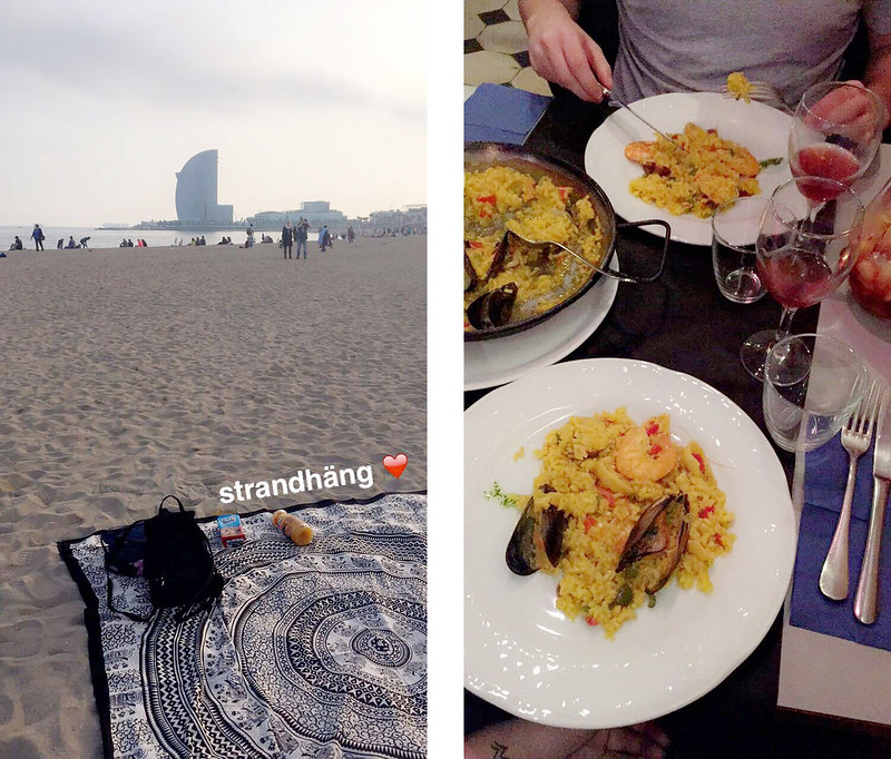 barcelona + snapchat
