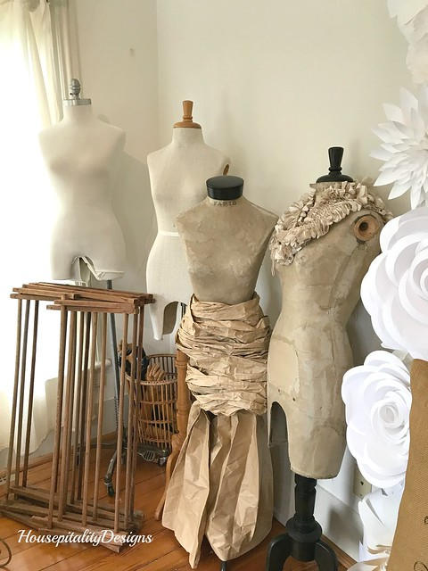 Vintage Dress Forms-Gather Shop, Midlothian VA-Housepitality Designs
