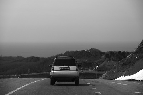 road on island - Yuzhno-Sakhalinsk to Kholmsk on APR 26, 2017 (42)