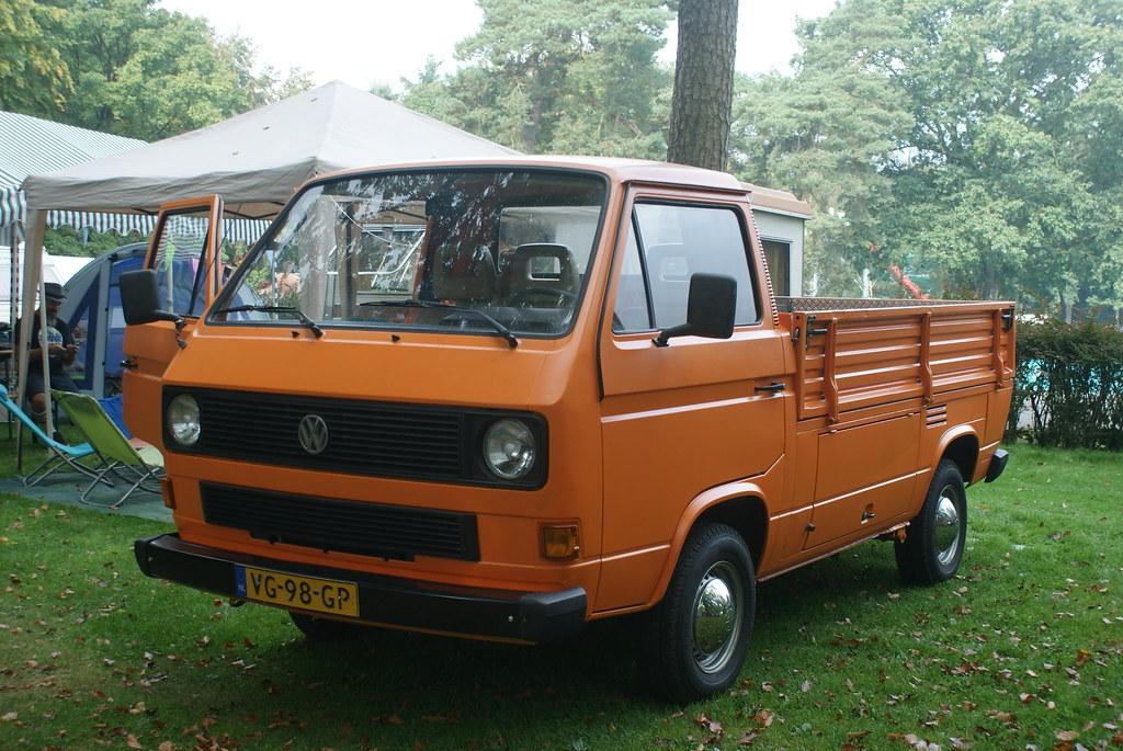vw transporter t3 pickup diesel kathleen theo flickr. Black Bedroom Furniture Sets. Home Design Ideas