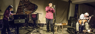 Fujii, Tamura, Russell, Cafe Oto 8.9.14 | by andynew