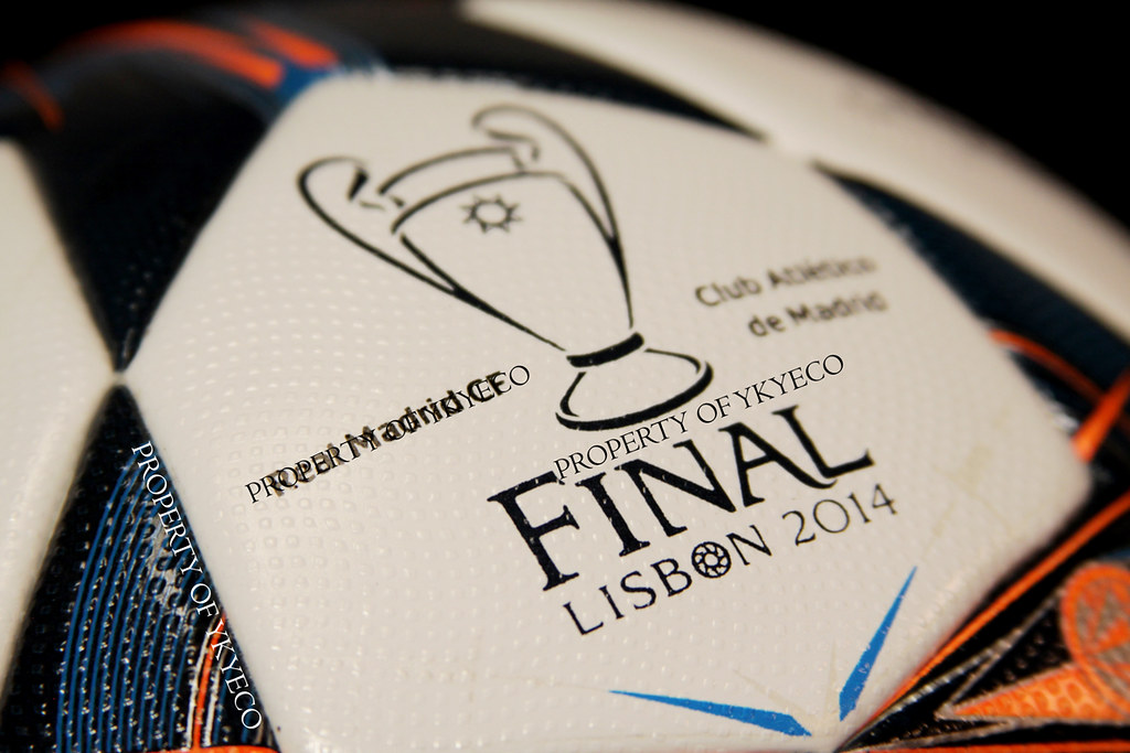 UEFA CHAMPIONS LEAGUE 2013 14 FINAL LISBON 2014 MATCH USED