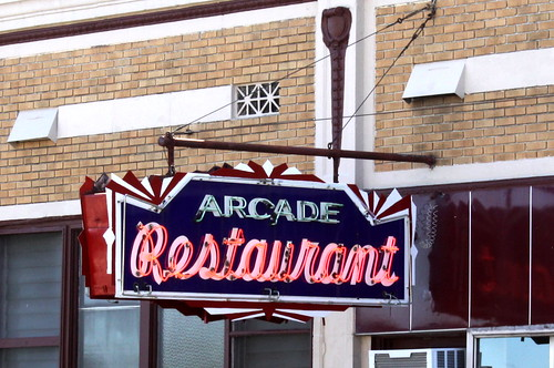 Arcade Restaurant Neon Sign - Memphis, TN