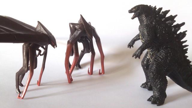 Flickr - Pho... Godzilla Vs Muto Toy