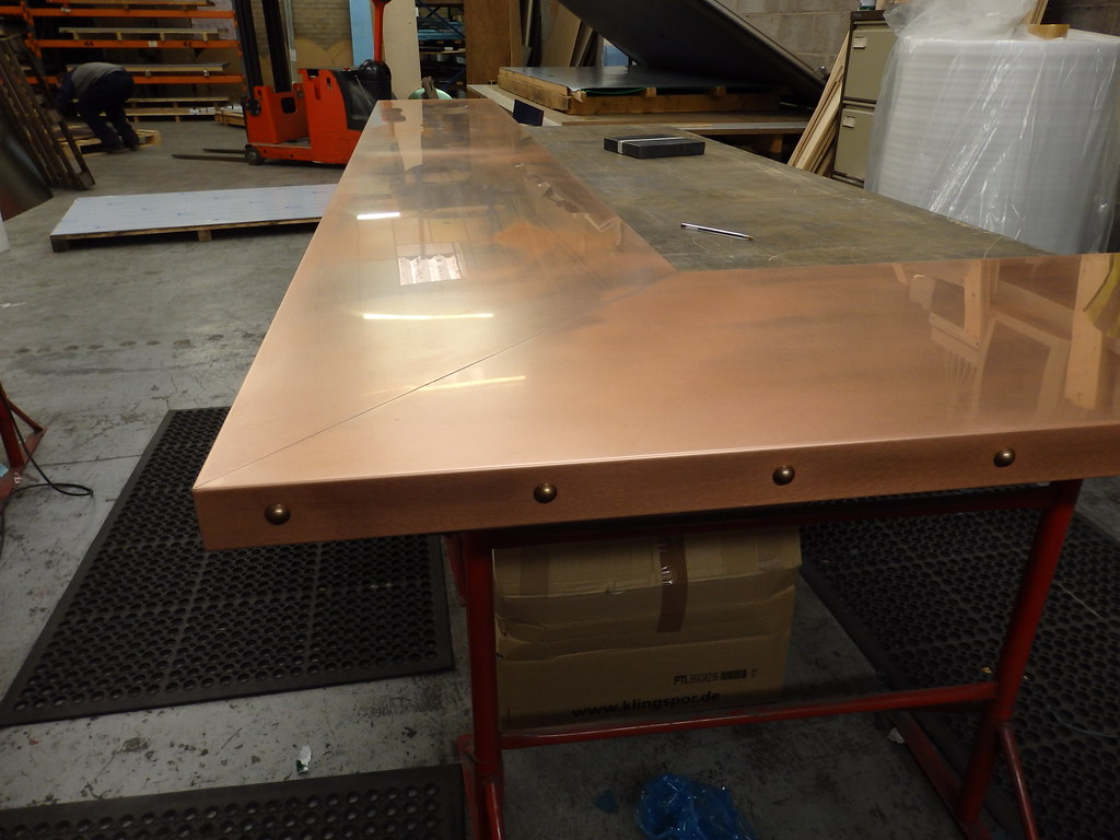 50 natural copper bar top bronze studs 3m x 2m for How to make a copper bar top