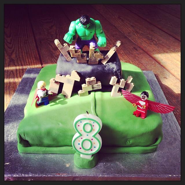 Hulk 8th birthday cake hulk avengers birthdaycake Flickr
