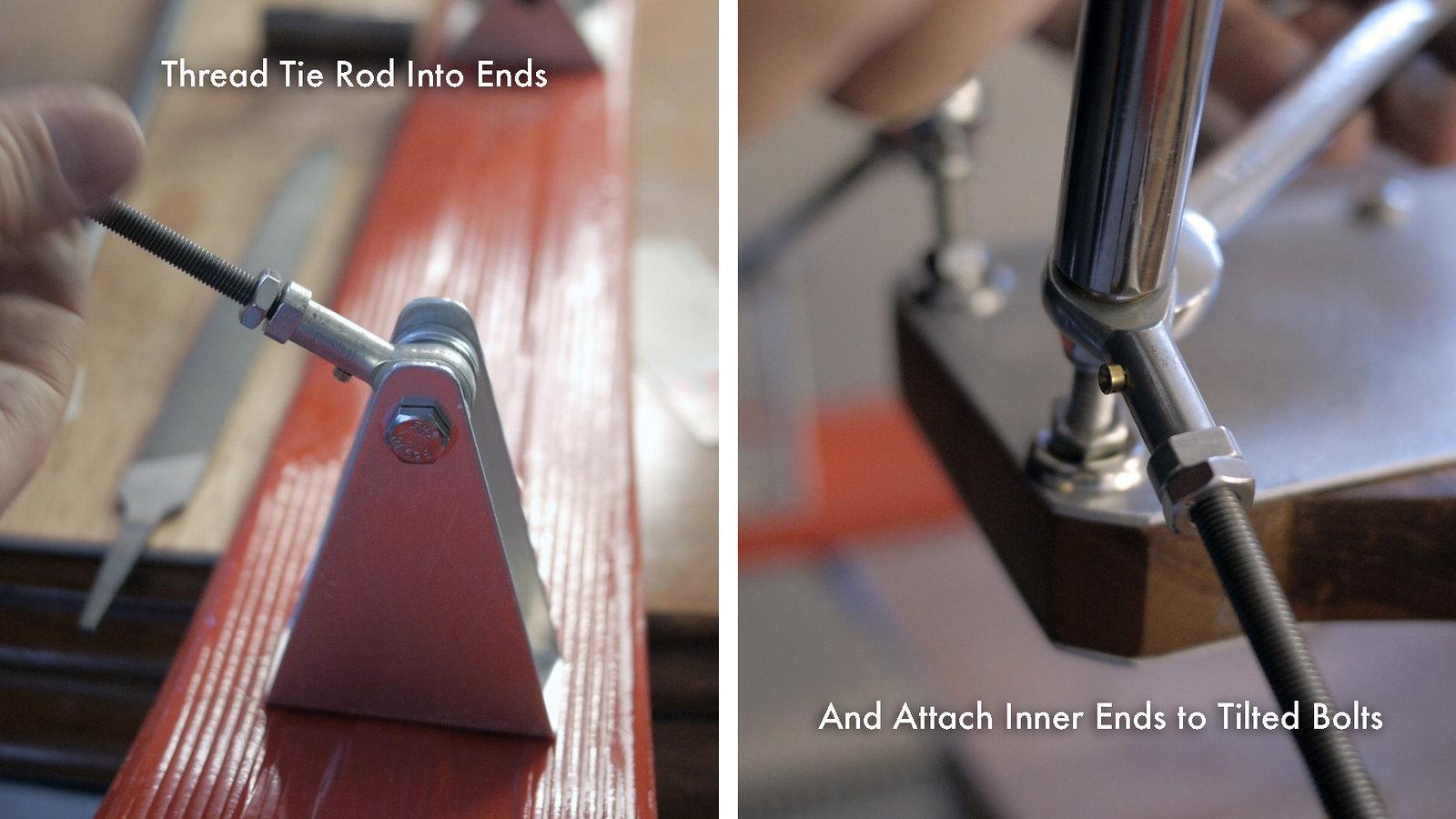 Install Tie Rod