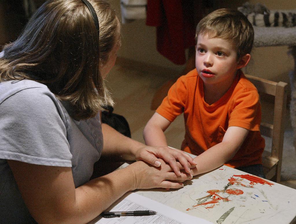 التواصل الجسدي مع مرضى التوحد