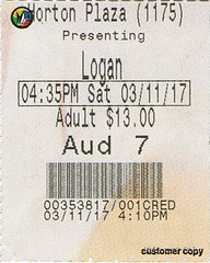 Logan ticketstub