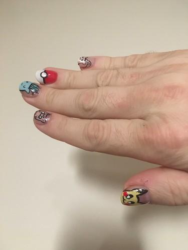 Pokémon nails!