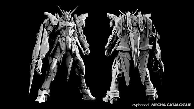 Dragon Momoko - 'MG' 1/100 Testament Gundam