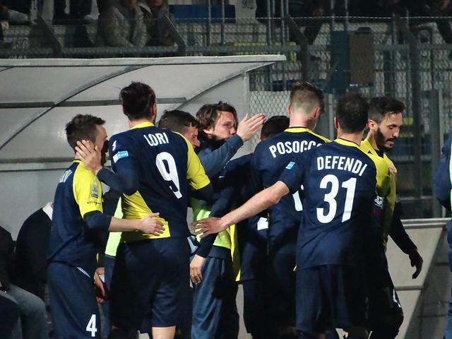 Santarcangelo - Forlì 2-0