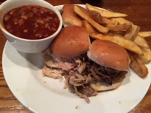 Meal at Millstone BBQ. From 7 Family-Friendly Food Spots in and Around Hocking Hills, Ohio