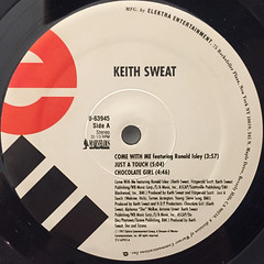 KEITH SWEAT:COME WITH ME(LABEL SIDE-A)