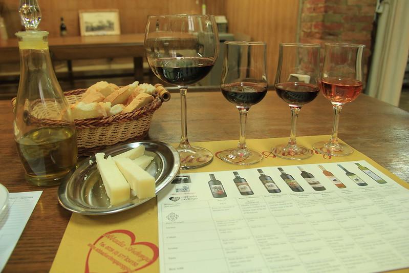 Wine tasting, Abbadia Ardegna