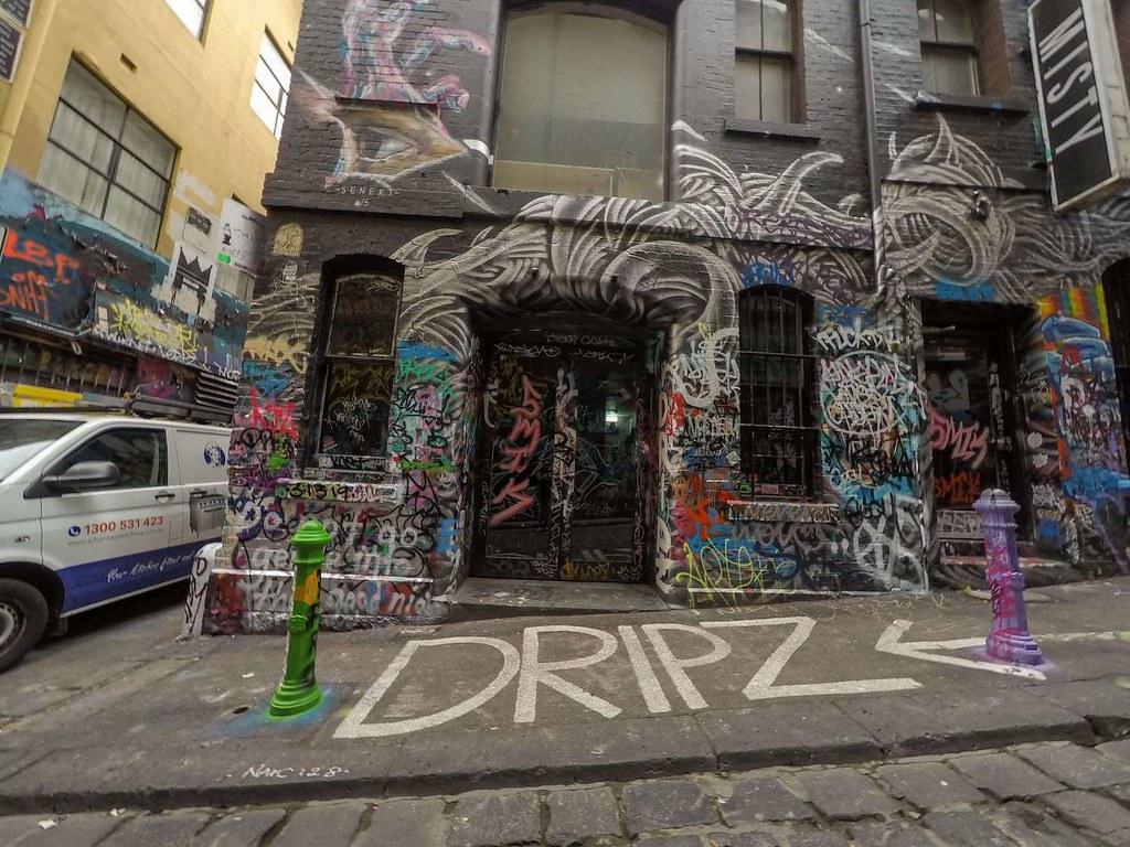 Melbourne Laneway Street Art December 2016