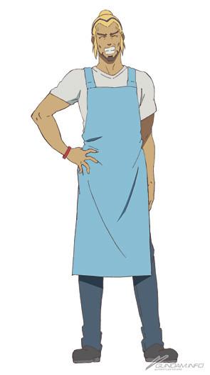 Gundam Twilight Axis Anime character design