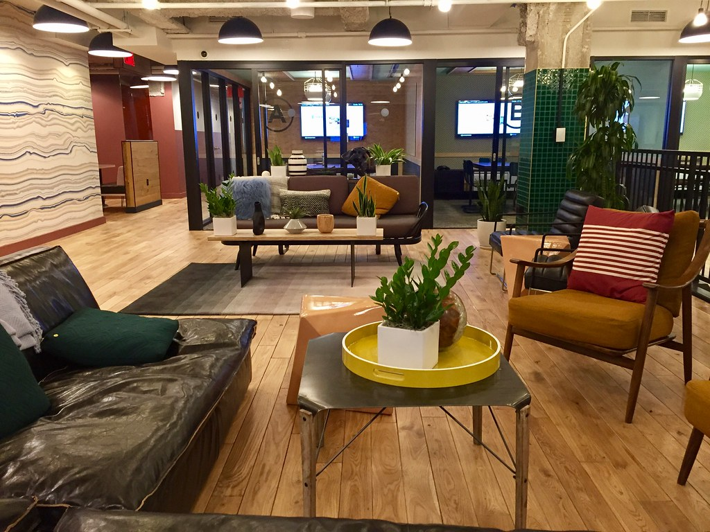 WeWork White House - Lobby