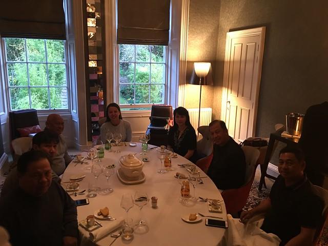 Michelin 050  dinner  in Edinburgh  April 8, 2017