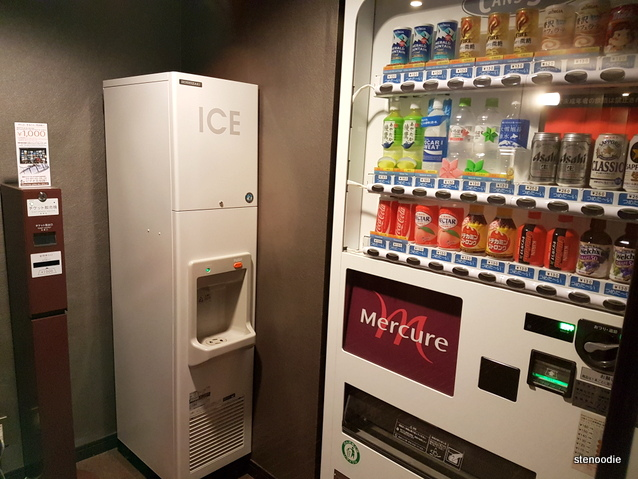 Ice box and vending machines
