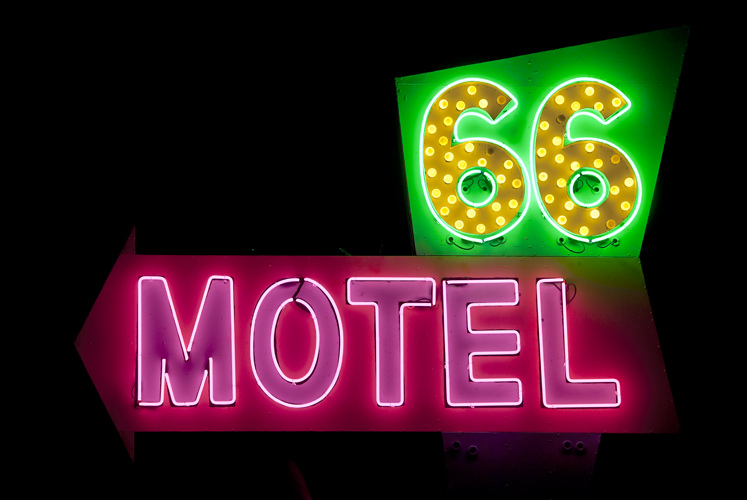66 Motel - Needles, California U.S.A. - October 13, 2012