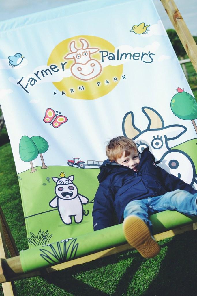 Farmer Palmer deckchair