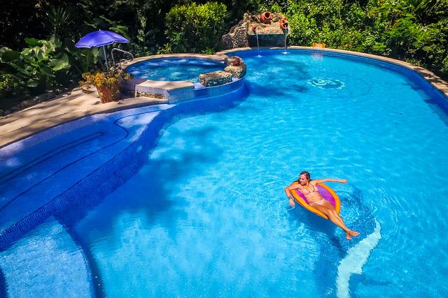 The Goddess Garden Pool