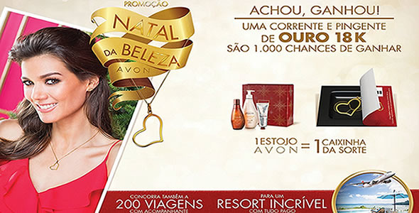 Promoção Natal da Beleza Avon