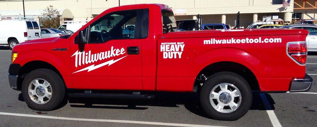 Milwaukee Tools Truck Milwaukee Tools Truck 9 2014 By