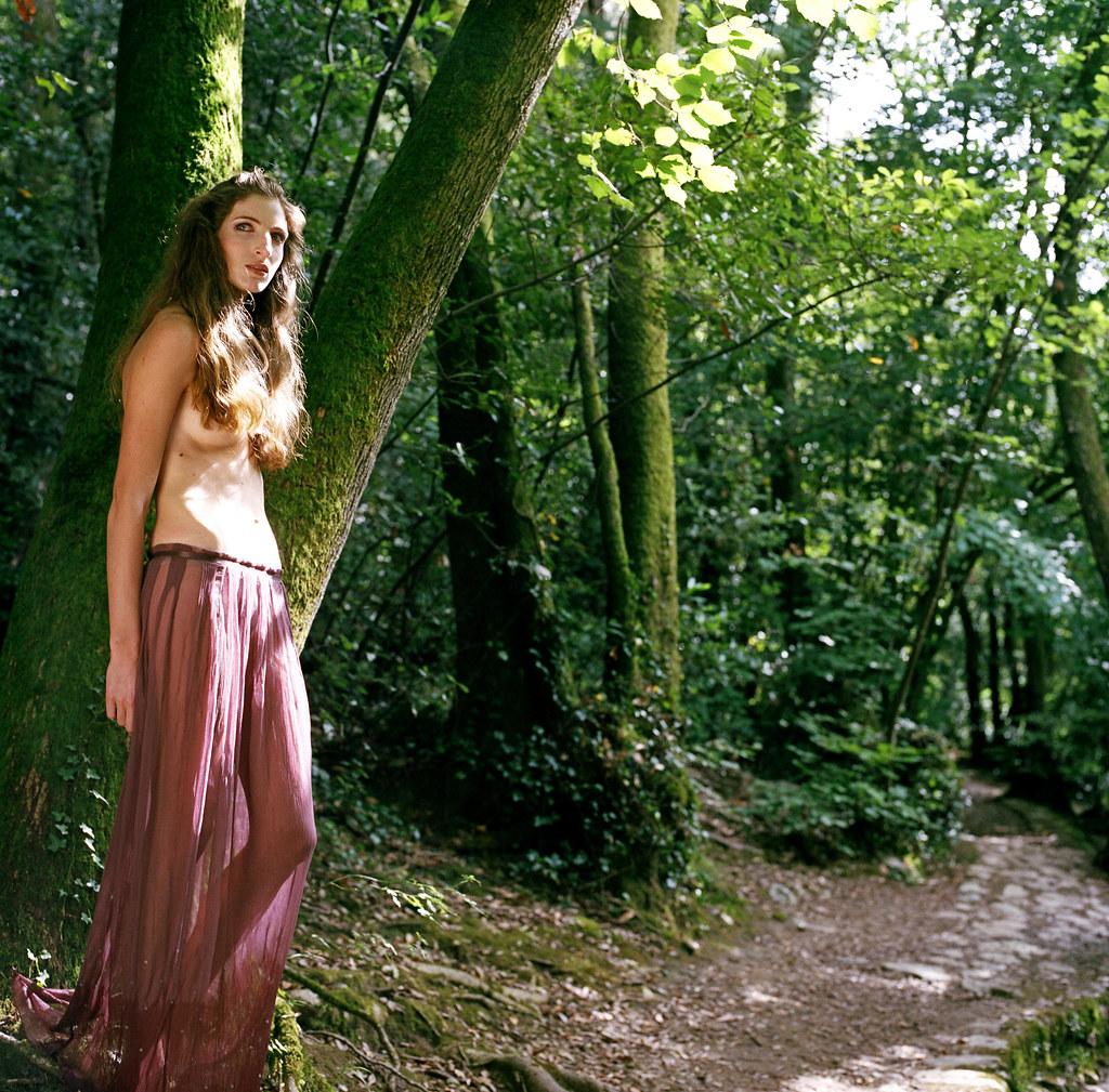 Lost in a green dream | Modèle : Amandine Delmotte
