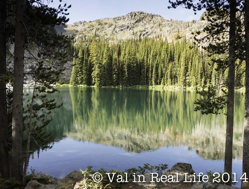 basin lake - seven devils idaho - val in real life