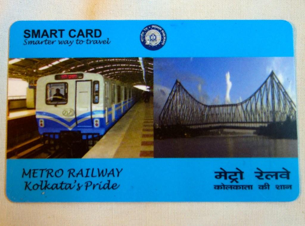 Kolkata Metro Smart Card Chris 9 Flickr
