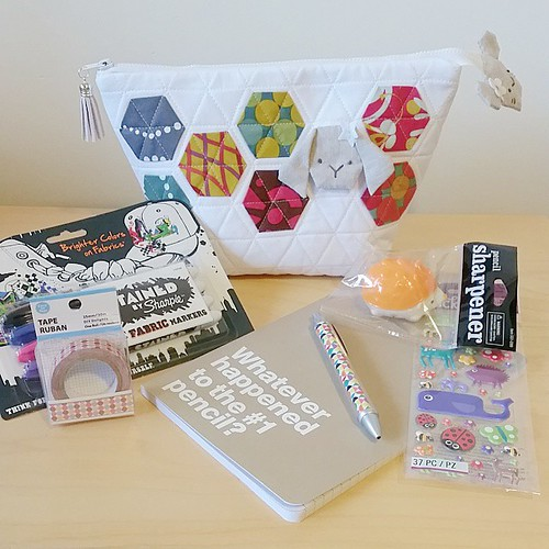 Bundle and pouch for my #stitchitswap partner. Hope you like it! | by MissEnota from AndChips