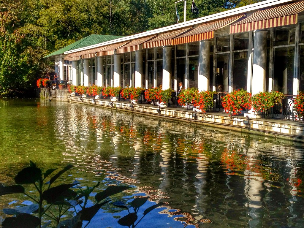LOEB Boathouse is in Your Central Park Bike Tours