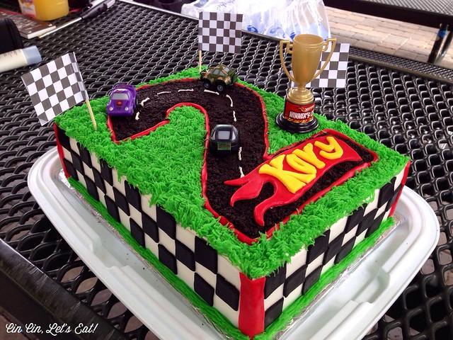 Race Car Themed Birthday Cake Recipe Cin Cin Lets Eat
