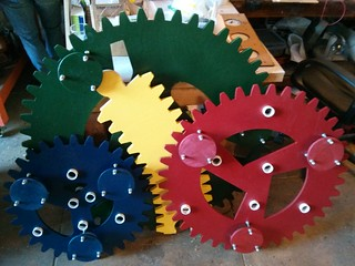 Spirograph gears painted | by RobotSkirts