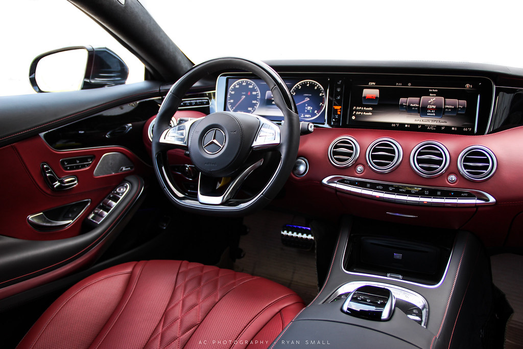 by m85 media interior of the all new 2015 mercedes benz s550 coupe by m85 media