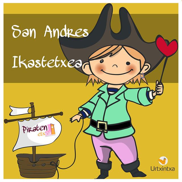 Egonaldi Piratak- San Andres Ikastetxea