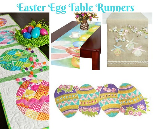Easter Egg Table Runners