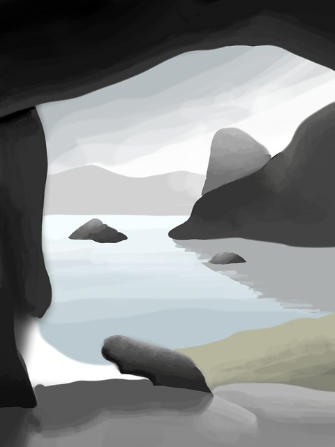 Cave Final Drawing