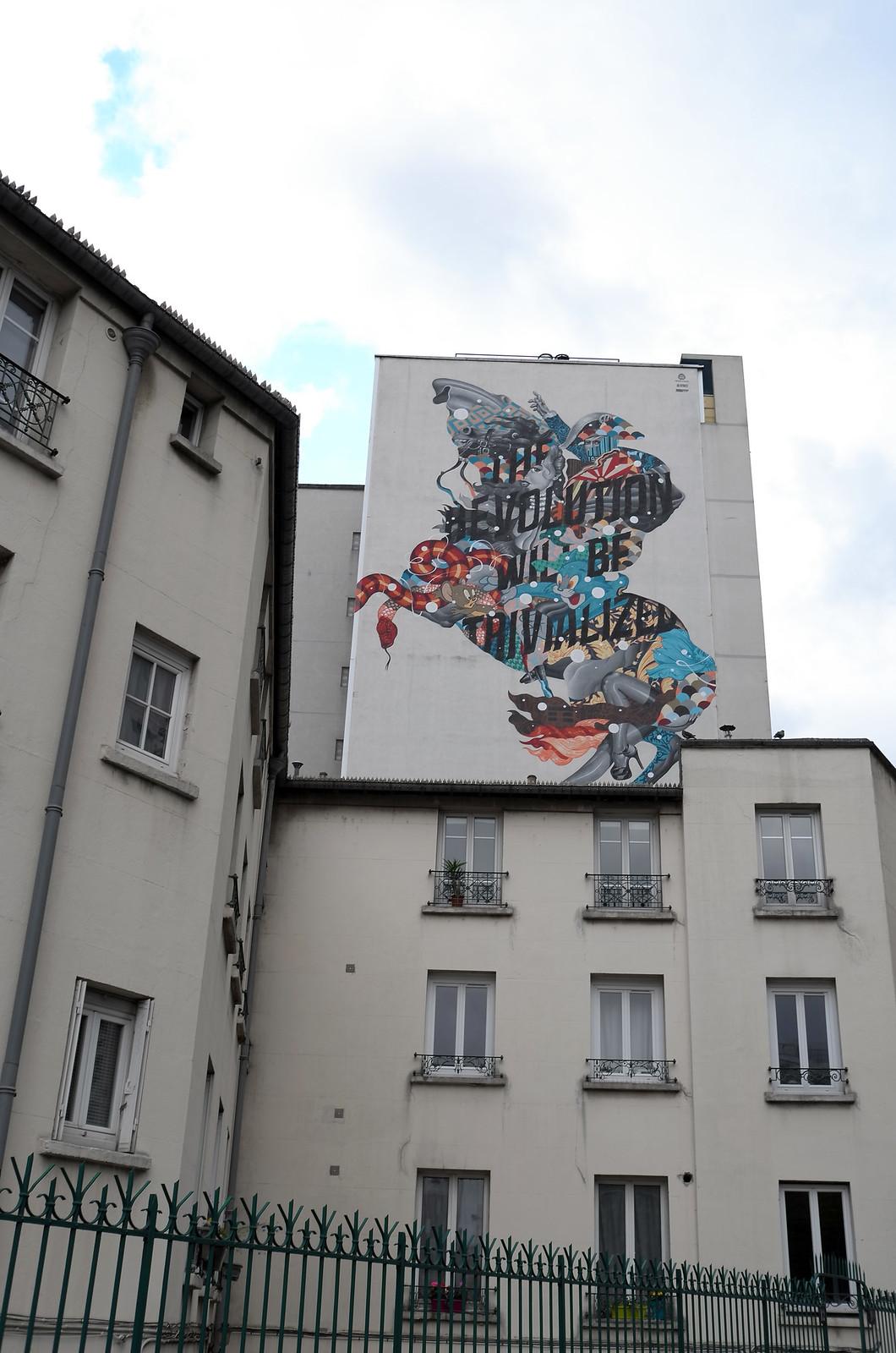 Fresco Painting Paris 13