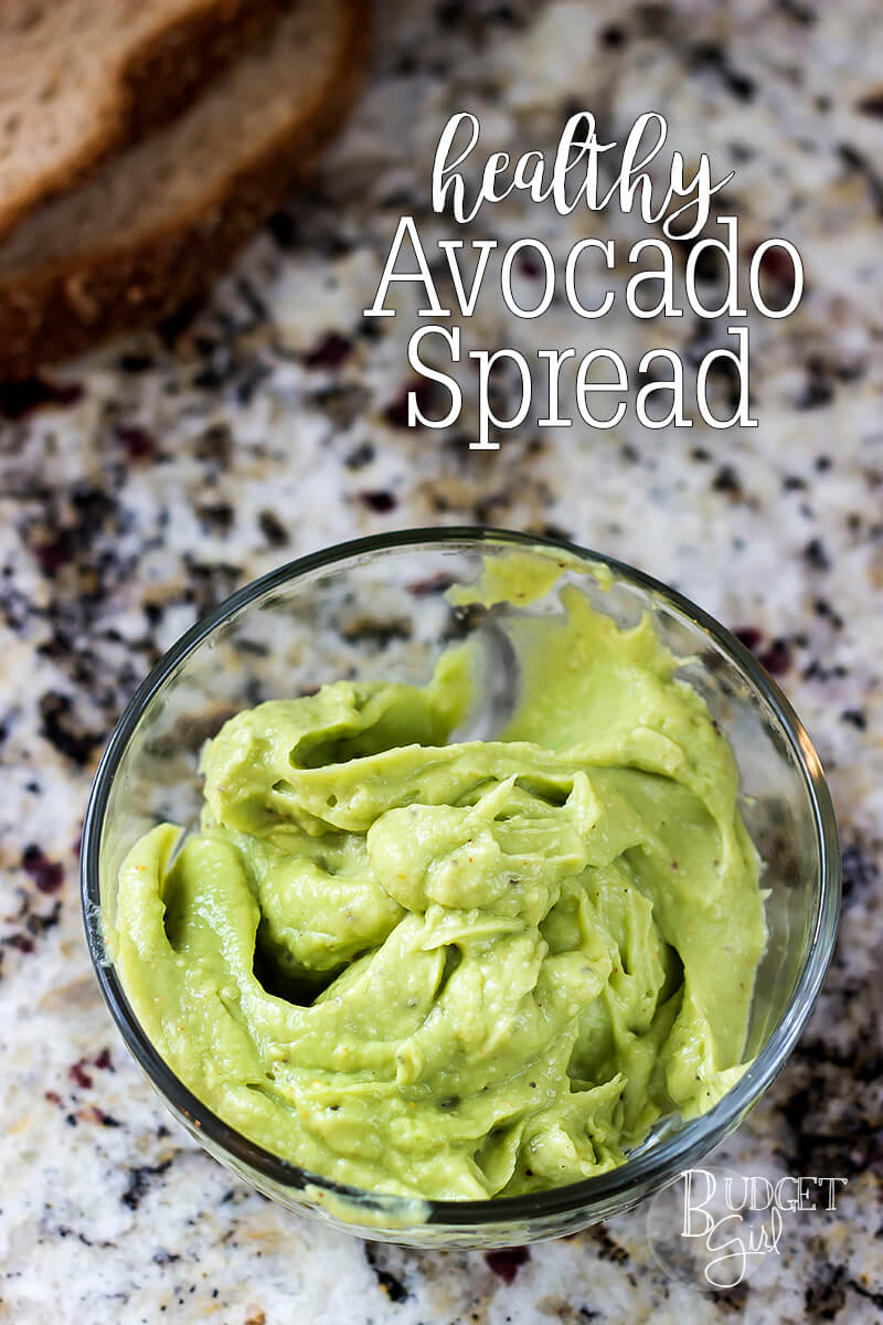 Healthy Avocado Spread