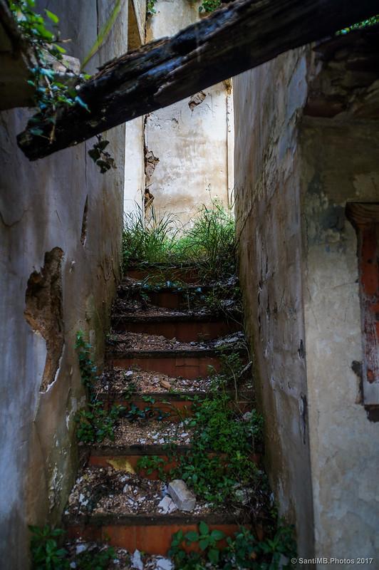Escalera en una casa de Marmellar