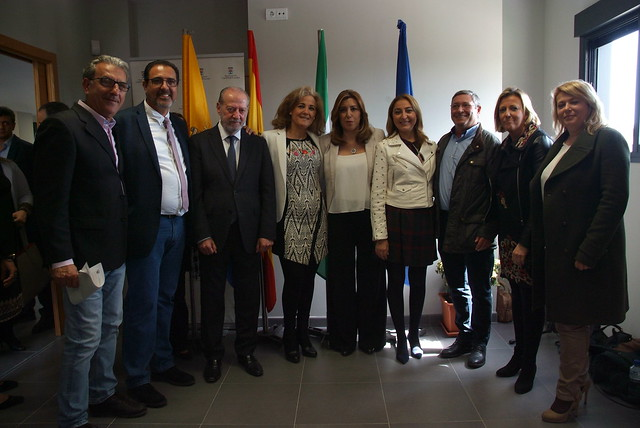 SUSANA DÍAZ INAUGURA EL NUEVO CENTRO DE SERVICIOS SOCIALES