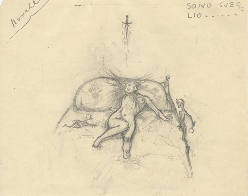 Alberto Martini - But now that I'm awake, 1910