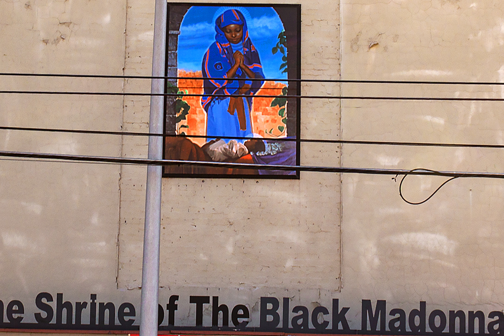 The Shrine of the Black Madonna--Atlanta (detail)