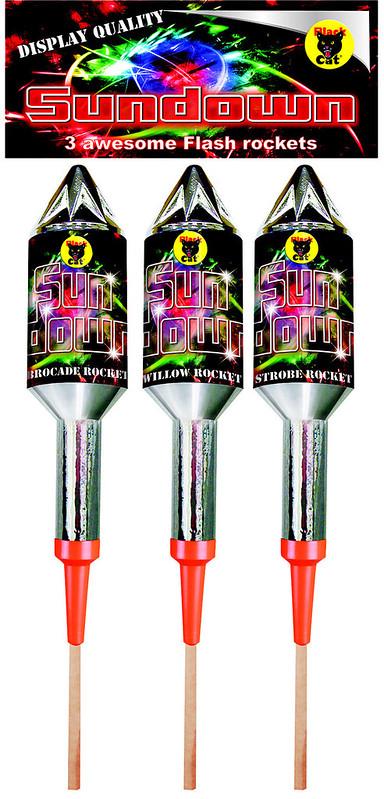 Sundown Rocket Pack by Black Cat Fireworks