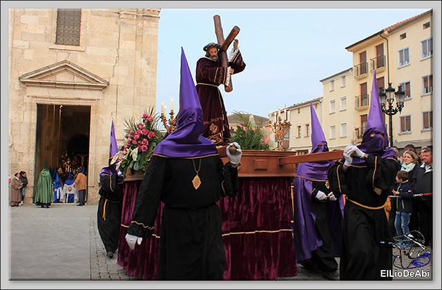 Procesión del Santo Entierro en la Semana Santa de Briviesca 2017 11