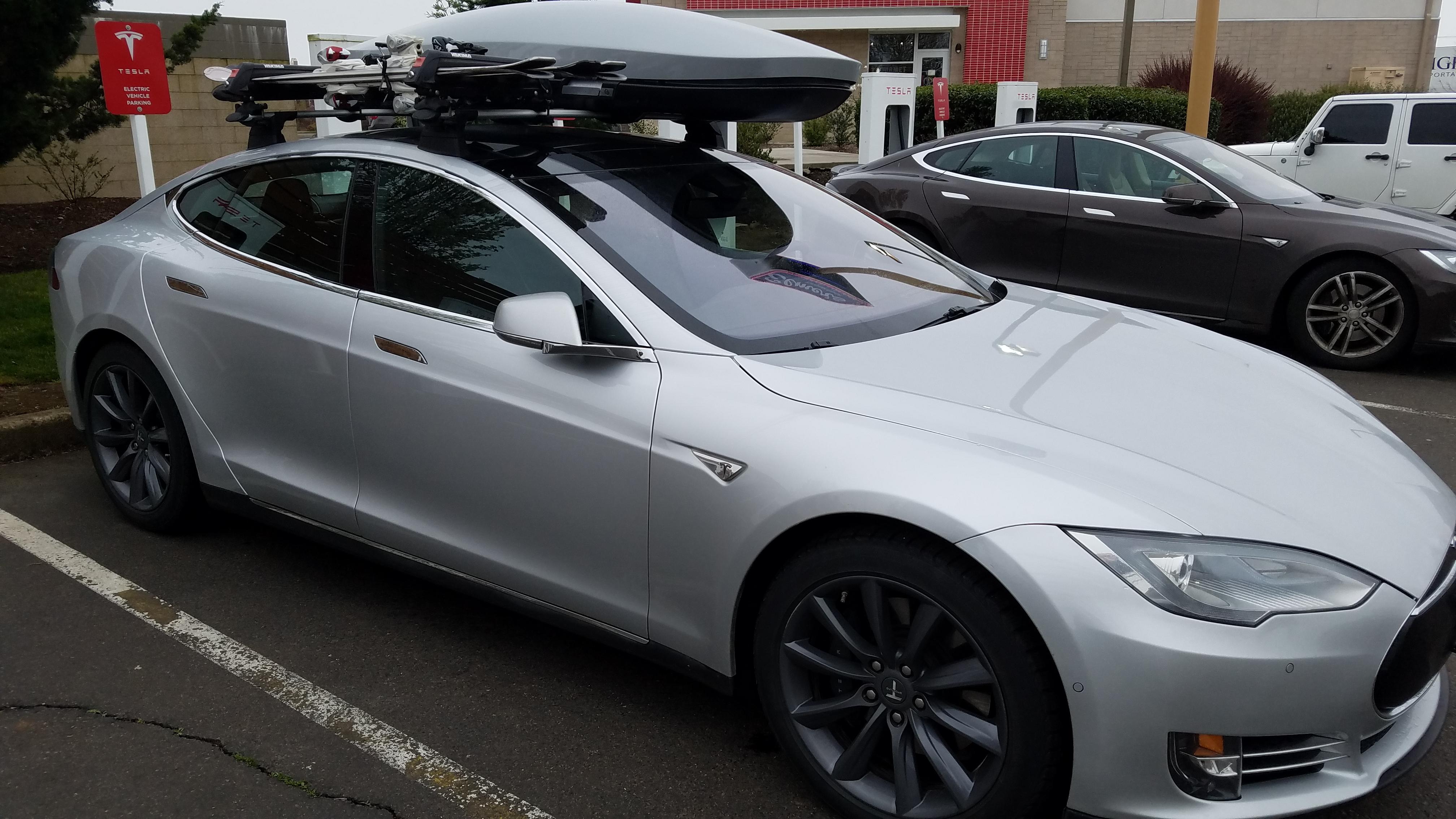Tesla Model S Roof Rack Lovequilts