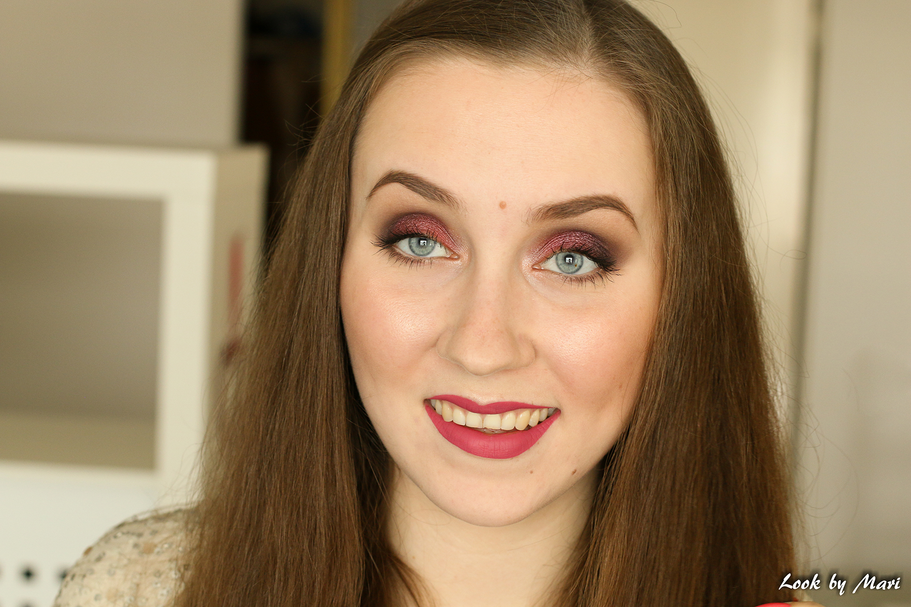 13 kat von d everlasting liquid lipstick mother review swatches swatch on the lips on fair skin
